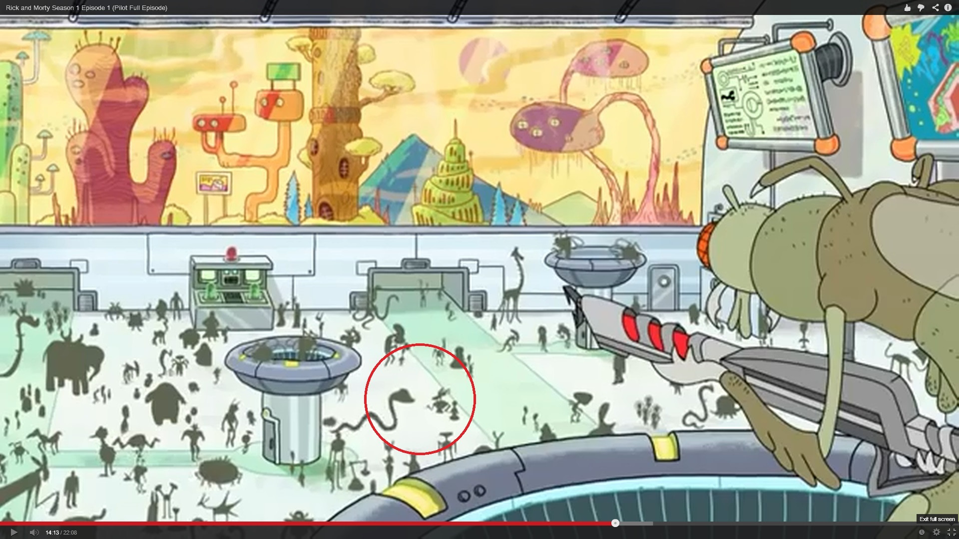 The Bots Cameo In Rick And Morty Mystery Science Theater 3000