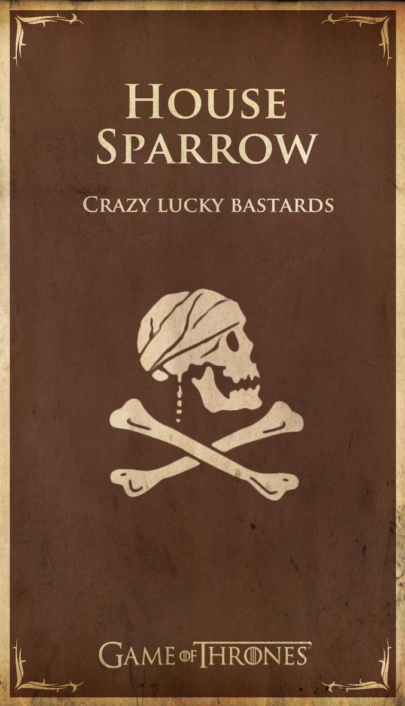 House Sparrow Game Of Thrones House Sigil Parodies Know Your Meme