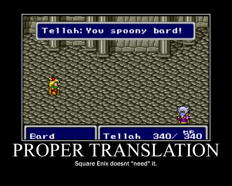 Proper Translation You Spoony Bard Know Your Meme