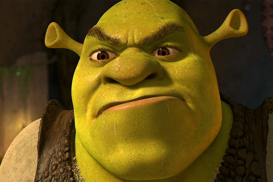 The Ogrelord is not pleased.   Shrek   Know Your Meme