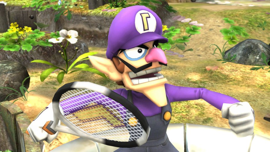 Waluigi ready to kick some ass  | Super Smash Brothers