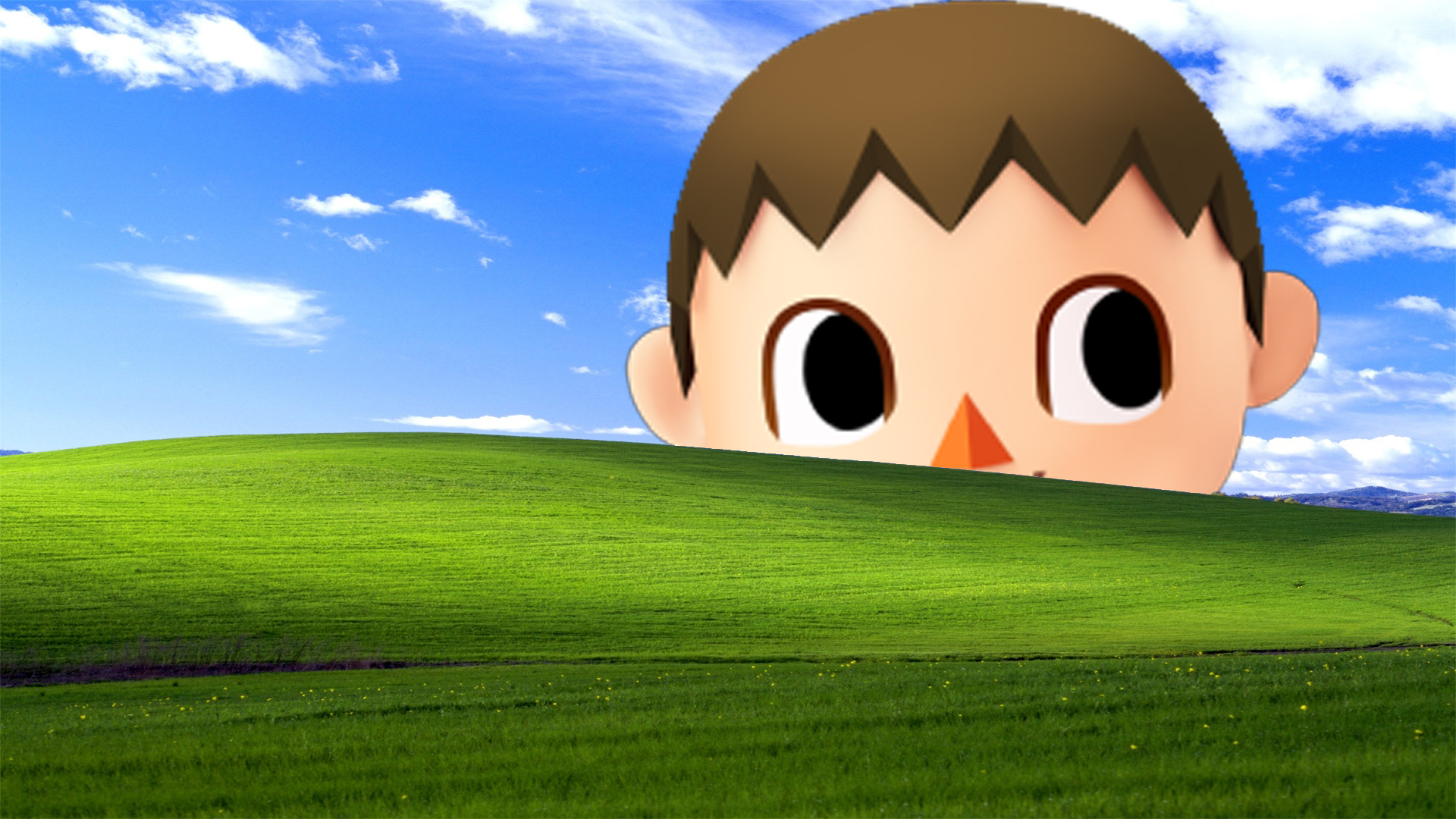 villager be hacking mah windows creepy villager know your meme