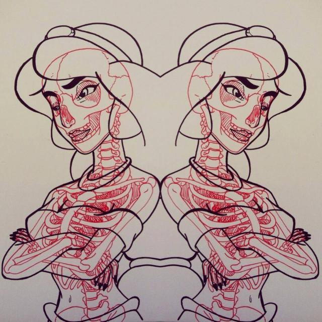 Face Art Nose Drawing Head Sketch Cartoon Figure Design Illustration Human Vision Care