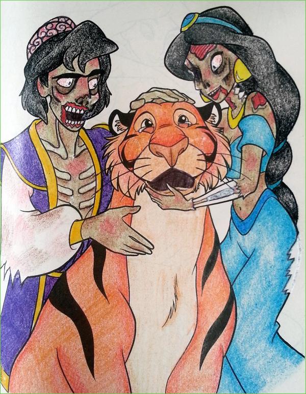 Zombie Aladdin | Children\'s Coloring Book Parodies | Know Your Meme