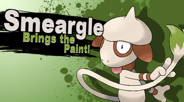 Smeargle Brings the Paint! | Super Smash Bros  4 Character