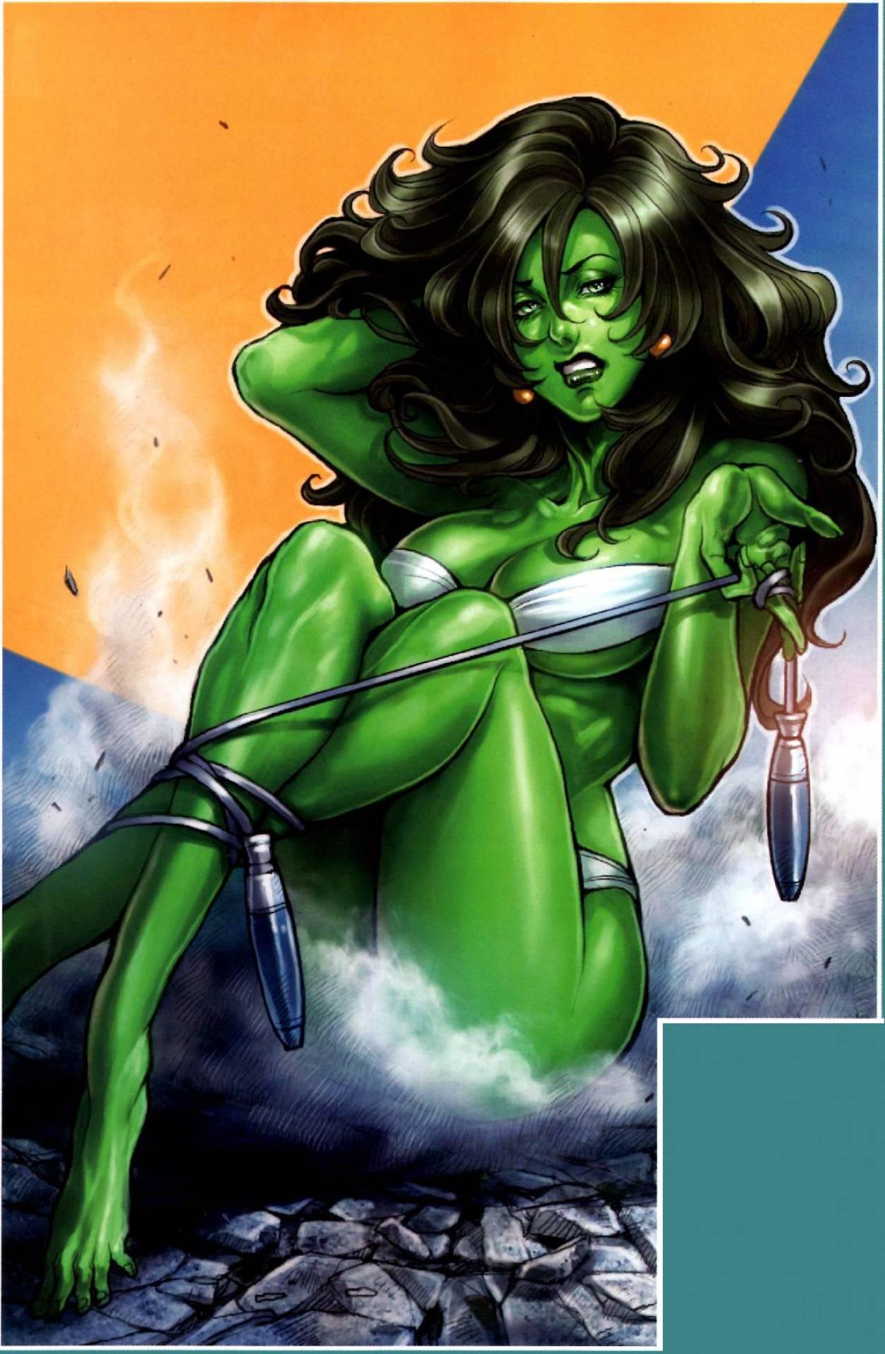 She Hulk Transformation Videos