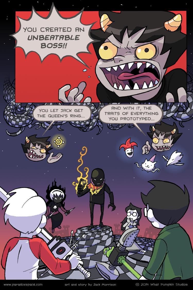 last page of homestuck