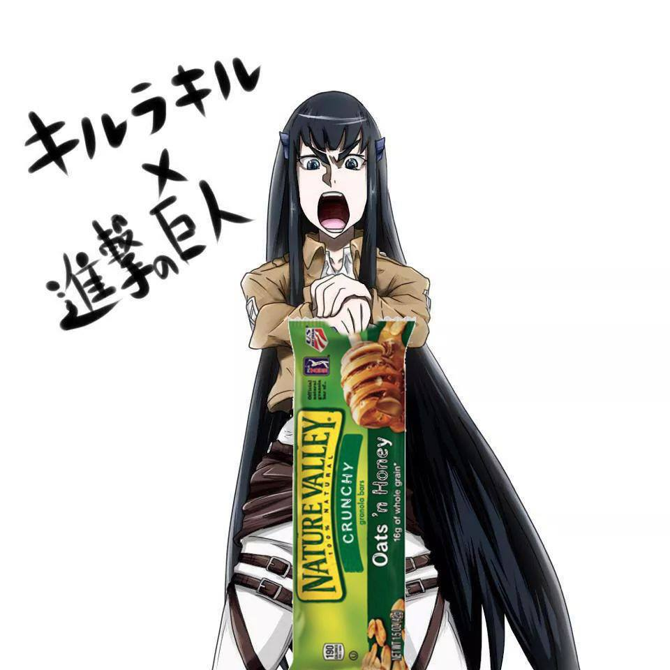 Nature Valley Kill La Kill Nature Valley Anime Tweets Know Your Meme