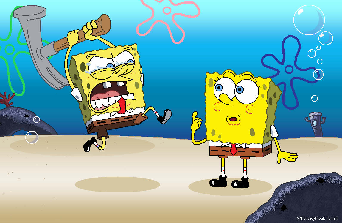 old vs new spongebob squarepants know your meme