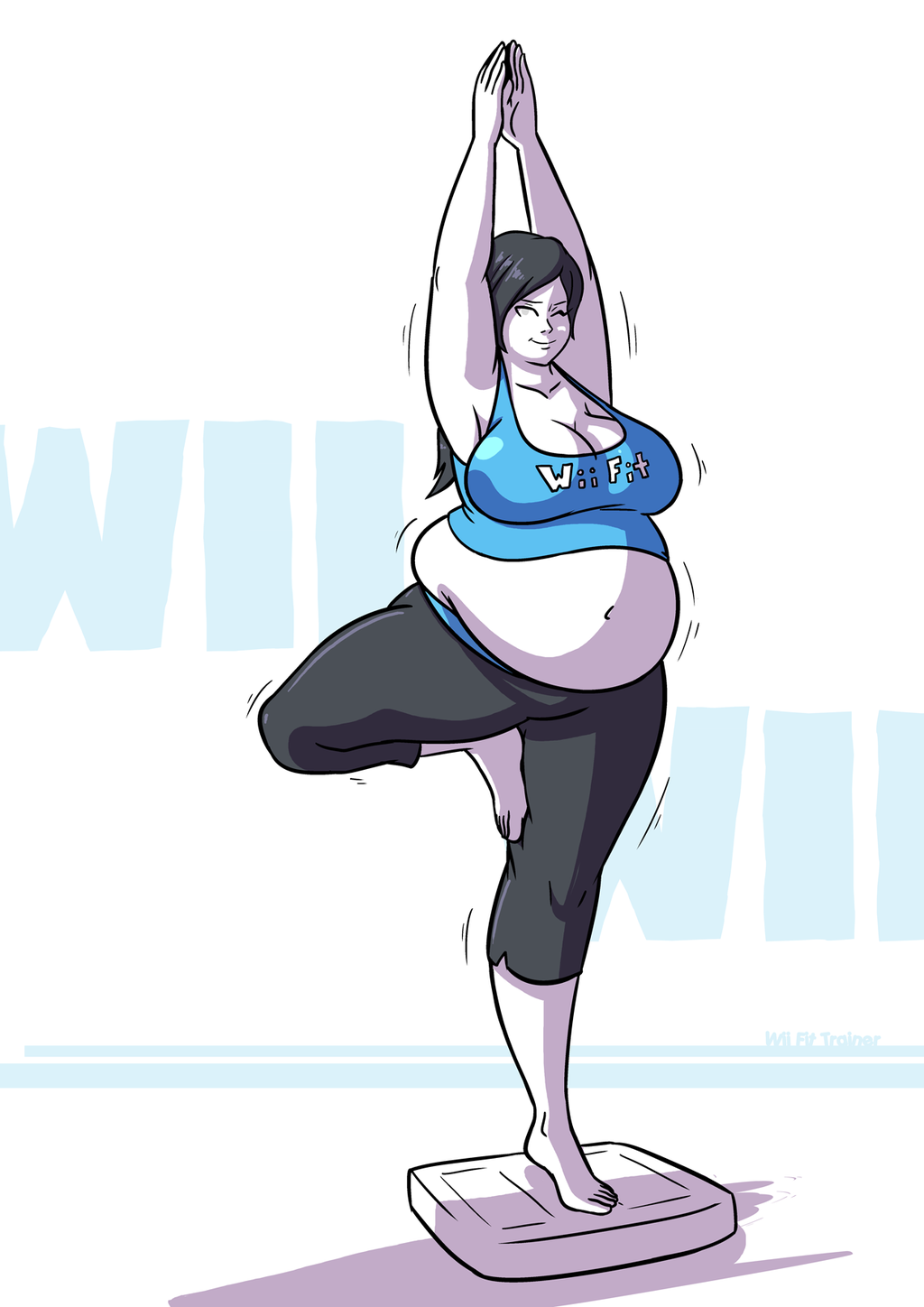 Wii fit trainer fat can suggest