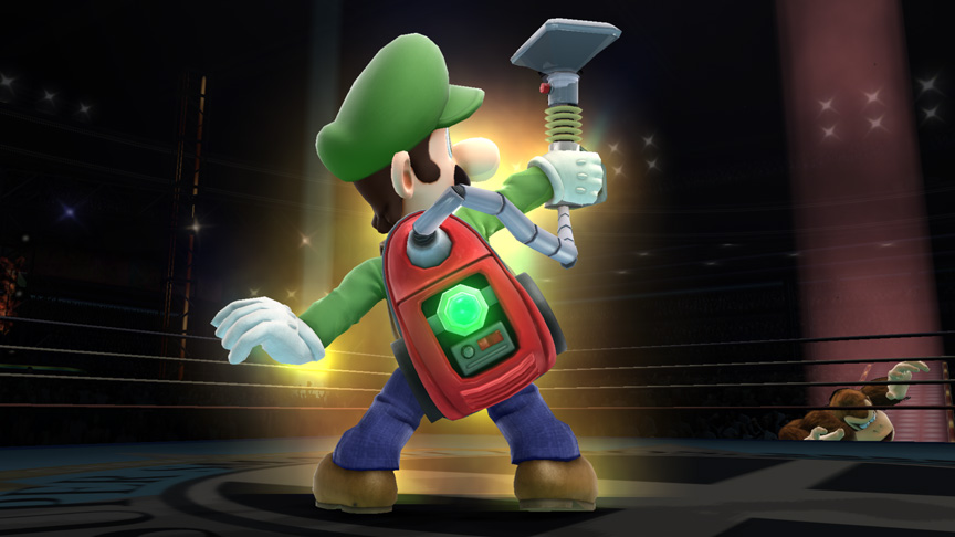 Luigi With Poltergust 5000 Smash Ballfinal Smash Know Your Meme