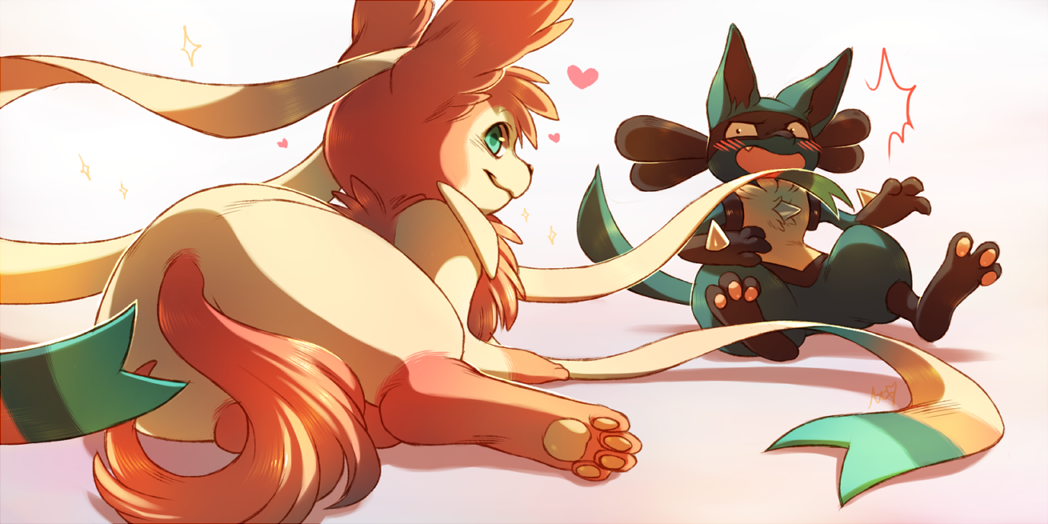 Sylveon And Lucario Eevee Know Your Meme