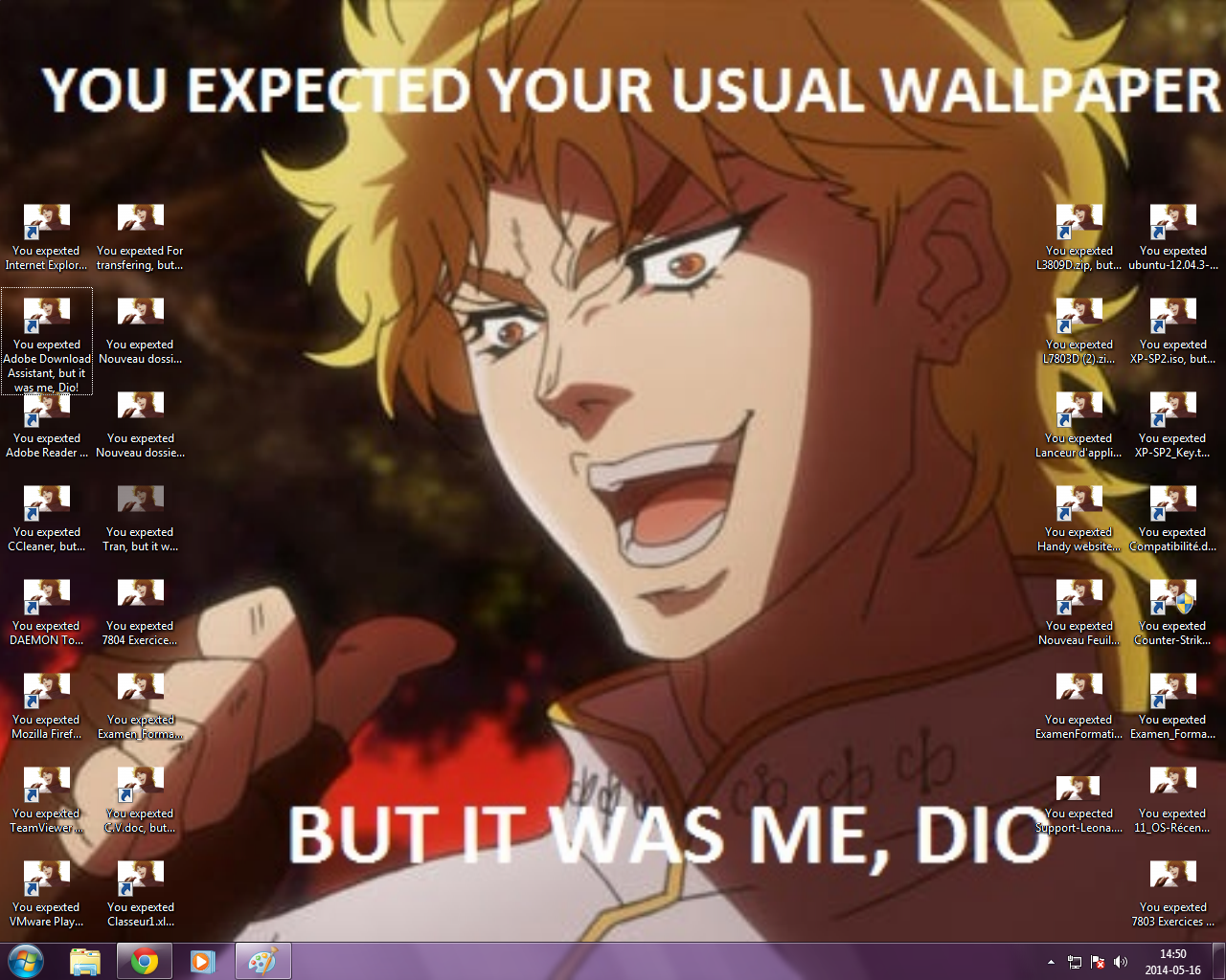 A Friend Left The Class Early So It Was Me Dio Know Your