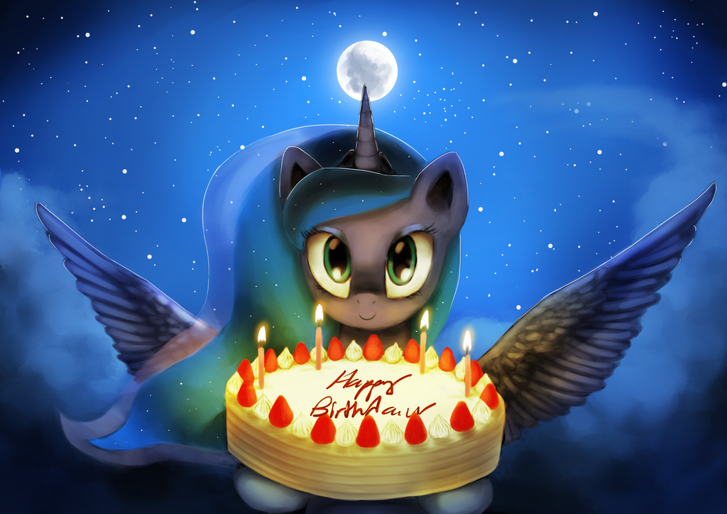 Luna's birthday gift | My Little Pony: Friendship is Magic | Know Your Meme
