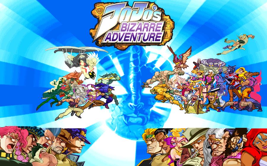 JoJo's Bizarre Arcade Game   JoJo's Bizarre Adventure   Know Your Meme
