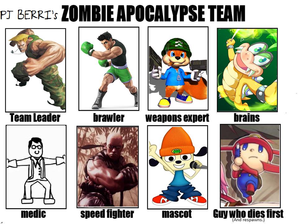 Image - 762413]   My Zombie Apocalypse Team   Know Your Meme