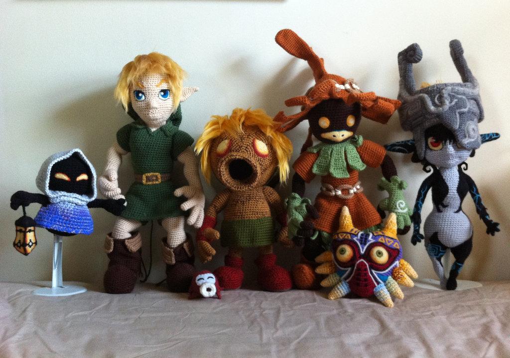 Crochet Skull Kid Spotted on deviantART - Zelda Dungeon | 719x1024