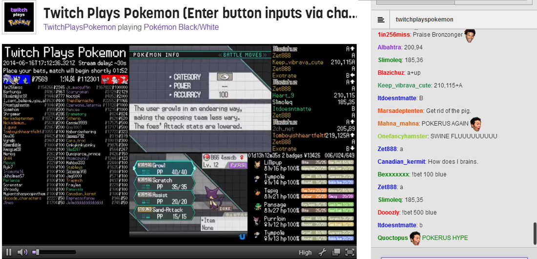 We caught pokerus a 2nd time    Twitch Plays Pokemon   Know
