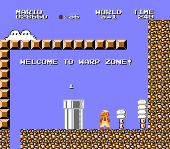 That Classic Reverse Warp Pipe Zone In Smb2 Lost Levels Super Mario Know Your Meme