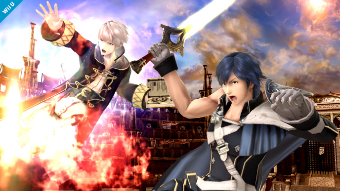 Image result for smash robin and chrom