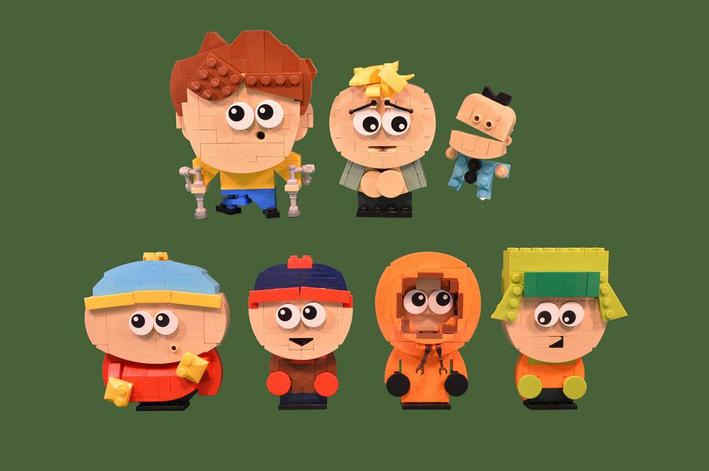 Kenny McCormick Kyle Broflovski South Park Eric Cartman Stan Marsh Cartoon