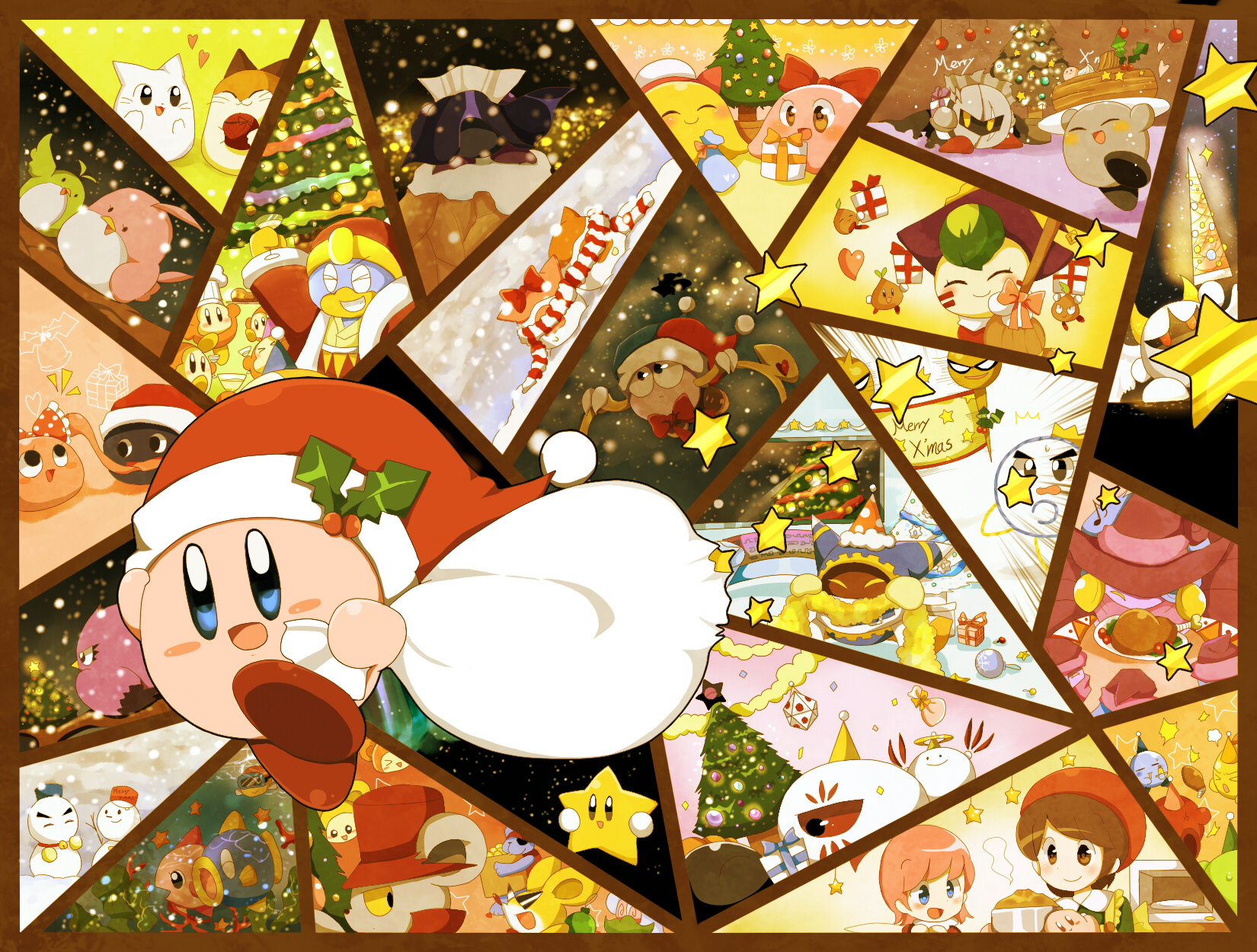 Santa is coming to town   Kirby   Know Your Meme