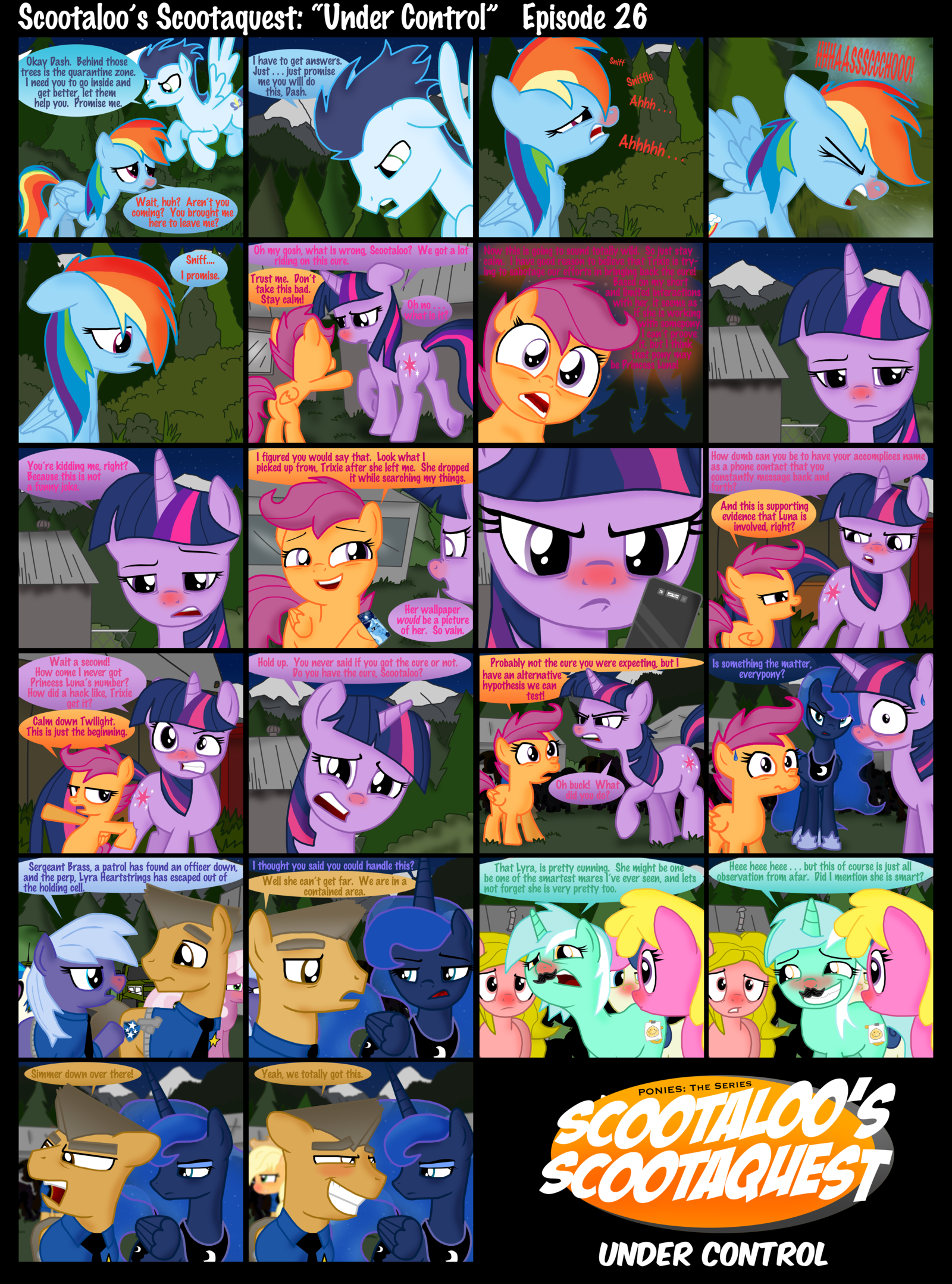 Scootaloo S Scootaquest Episode 26 My Little Pony Friendship Is Magic Know Your Meme Check out our scootaloo selection for the very best in unique or custom, handmade pieces from our stuffed animals & plushies shops. scootaloo s scootaquest episode 26 my