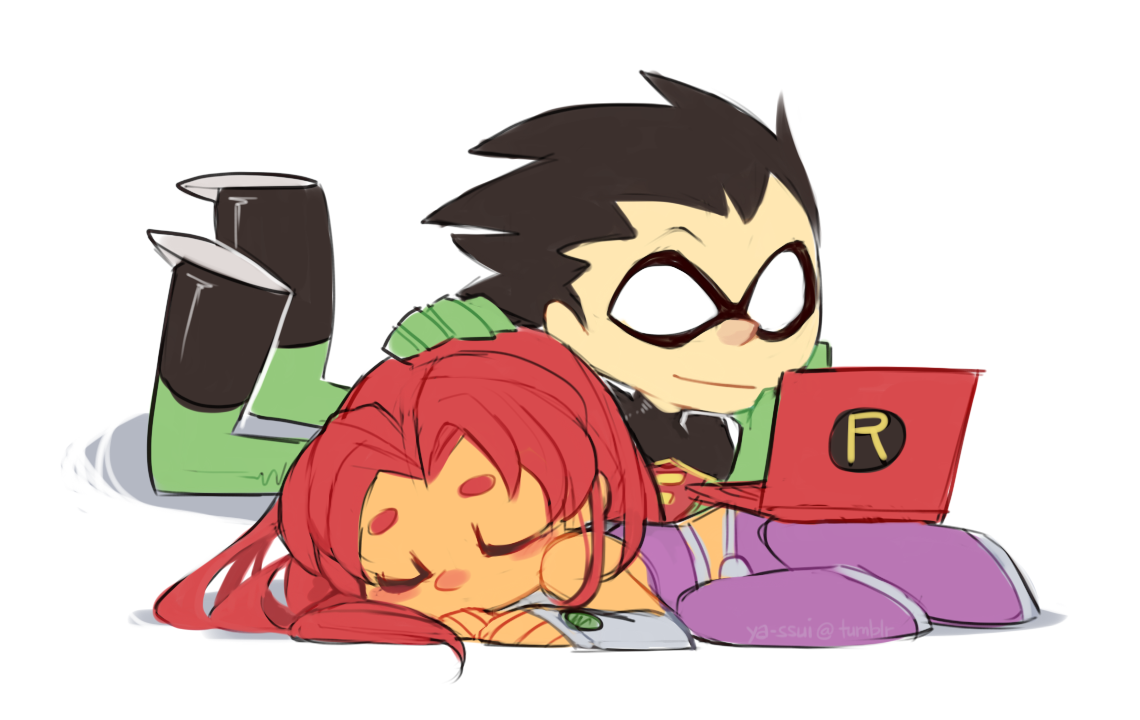 Sorry, that robin teen titans starfire and black fire similar