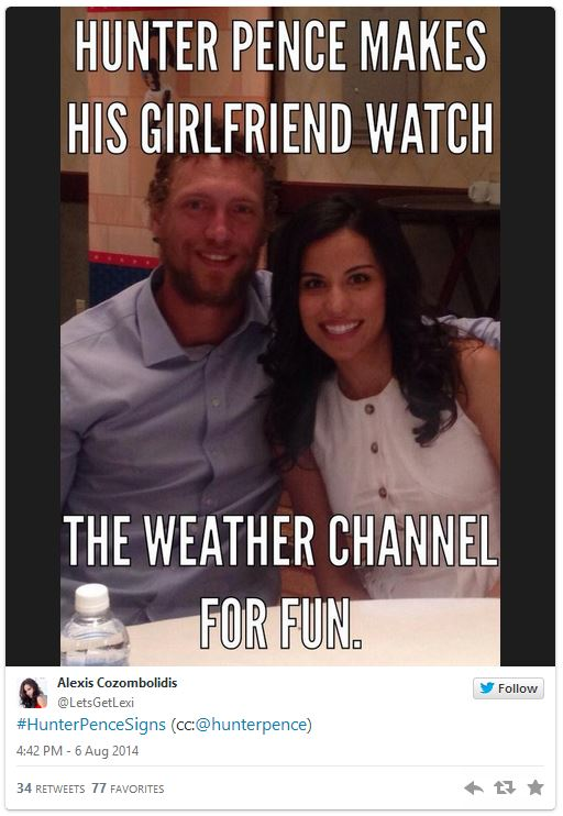 Image 807425 Hunter Pence Signs Know Your Meme