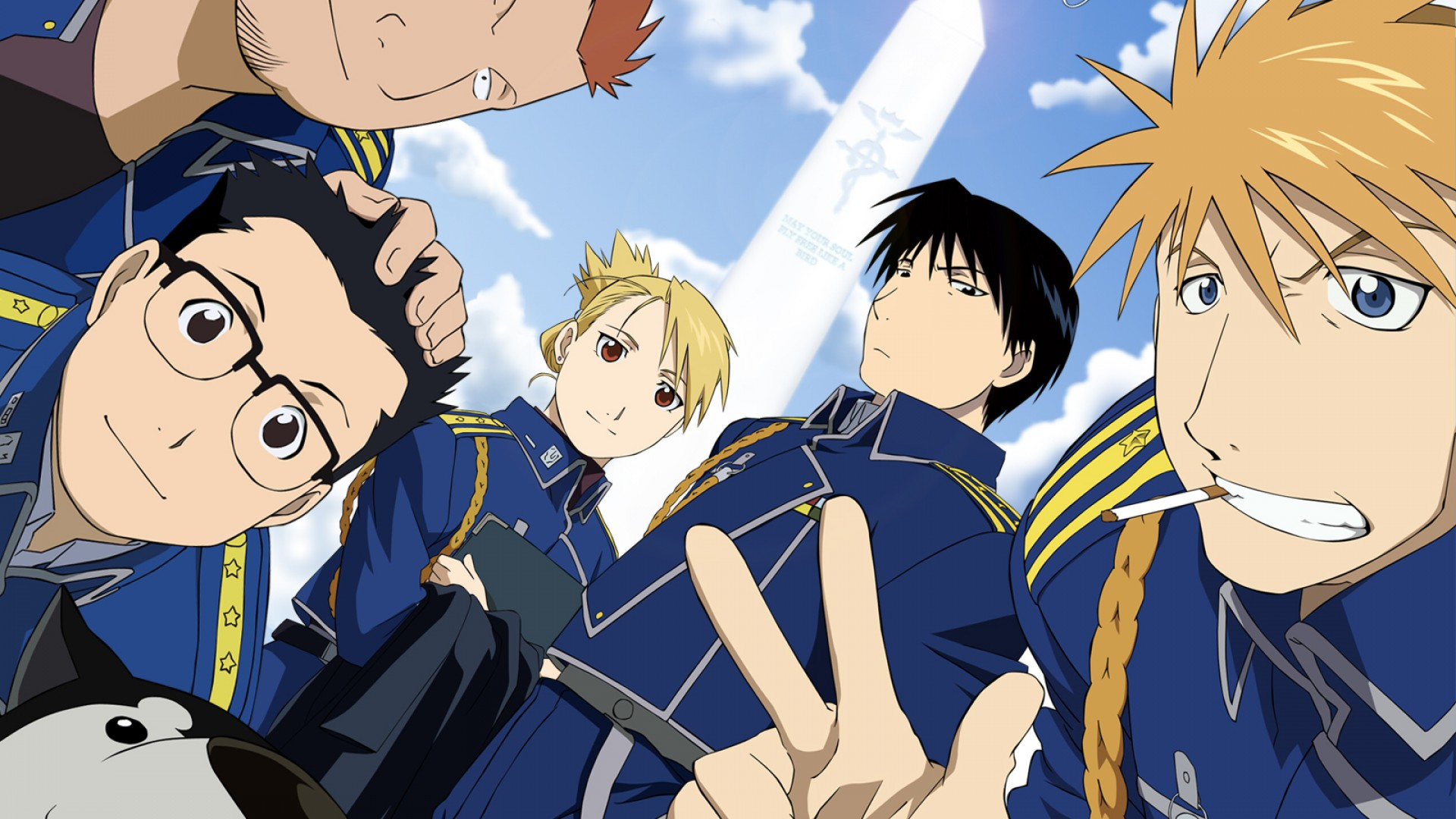 Roy Mustang And The Crew Fullmetal Alchemist Know Your Meme