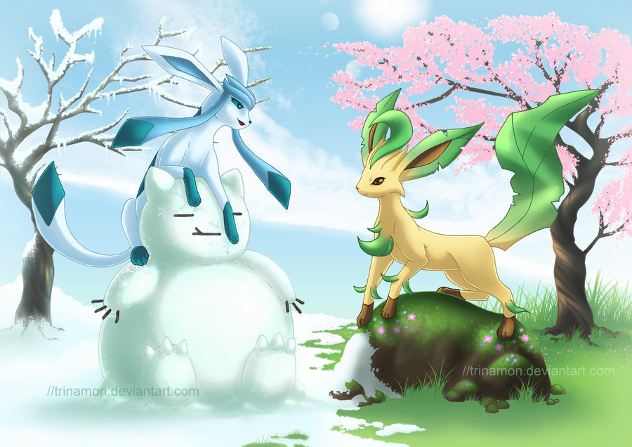 What moves does Glaceon learn - answers.com