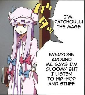 Patchy Touhou Project 東方project Know Your Meme