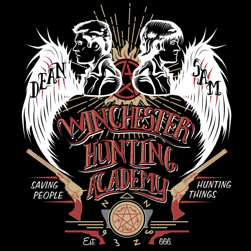 Family Business Winchester Hunting Academy Supernatural Know