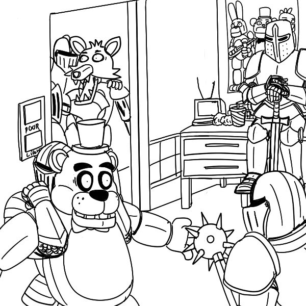 Five Knights at Freddy\'s | Five Nights at Freddy\'s | Know Your Meme