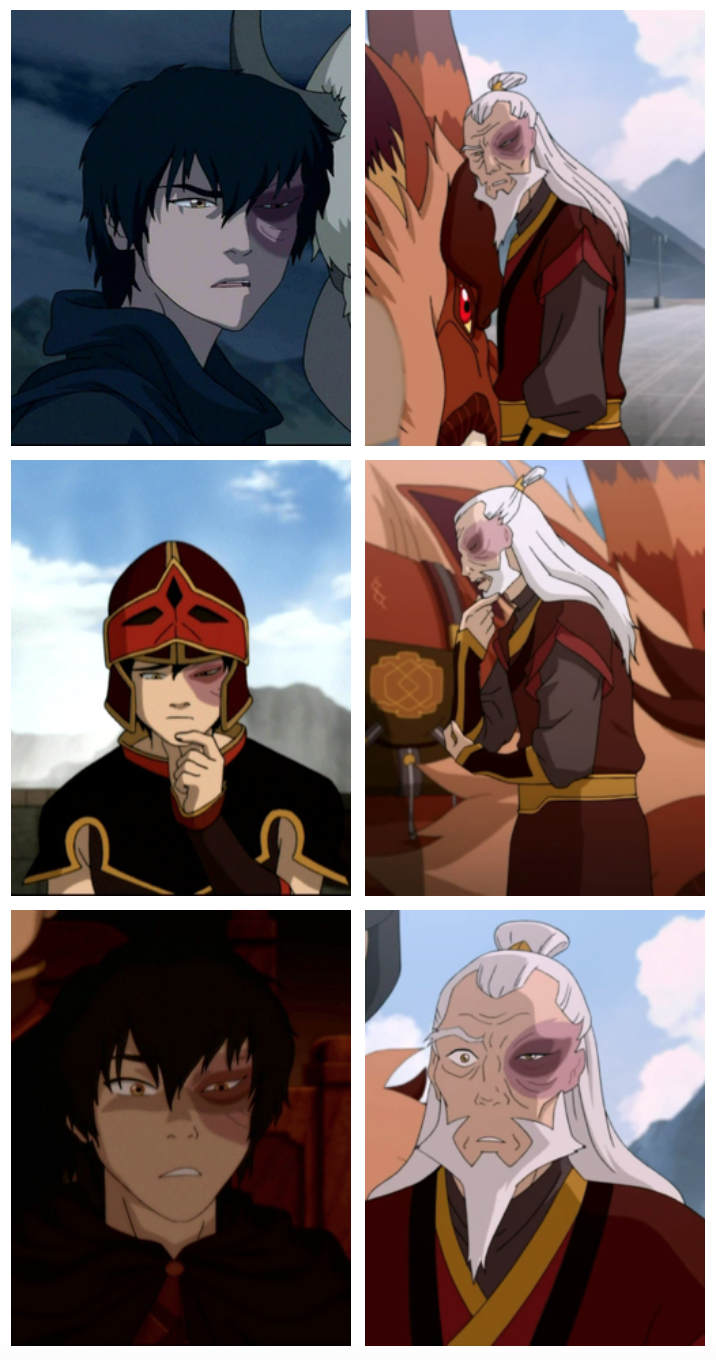 Zuko S Mannerisms Over The Years Remain Unchanged Avatar The