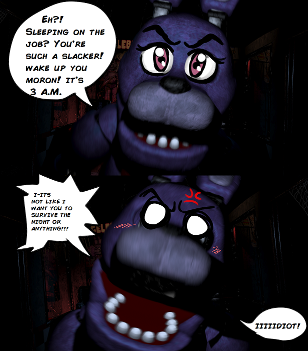 ed9 tsundere bonnie five nights at freddy's know your meme