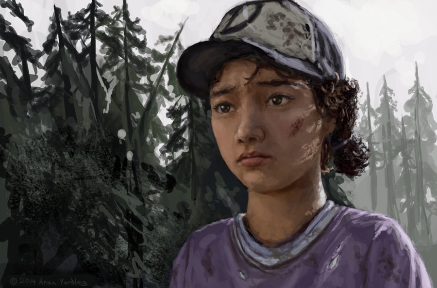 Realistic Clementine By Ordoveci The Walking Dead Know