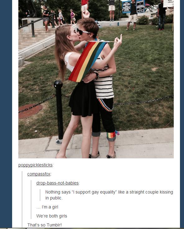 Gay in public tumblr