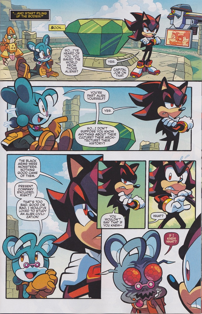 The Chaos Acid Is Kicking In Archie Sonic Comics Know Your Meme