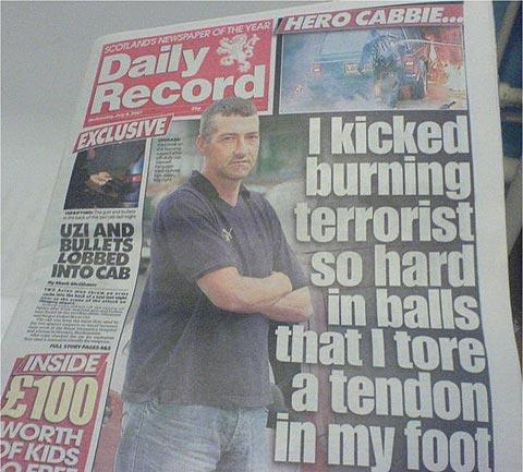 scottish hero funny news headlines know your meme