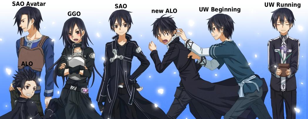 UW Running SAO Avatar Beginning New ALO GGO