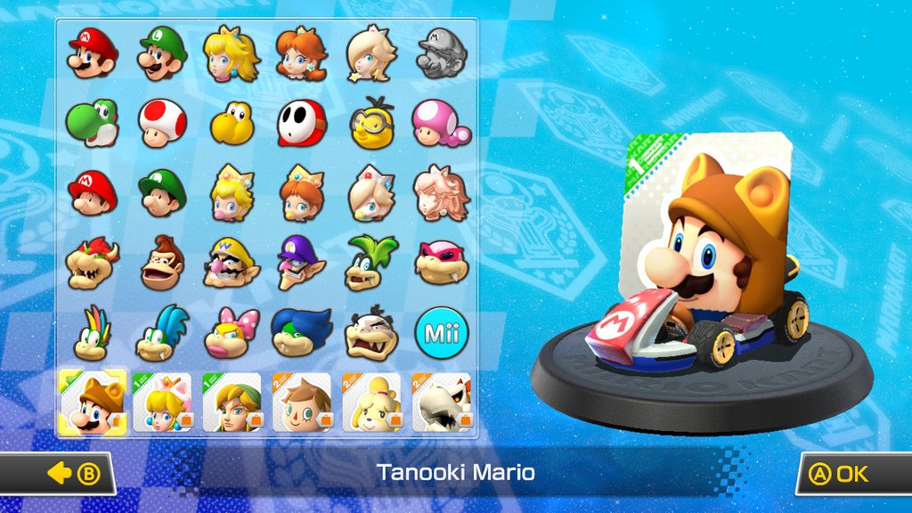 tanooki card mario mario kart know your meme