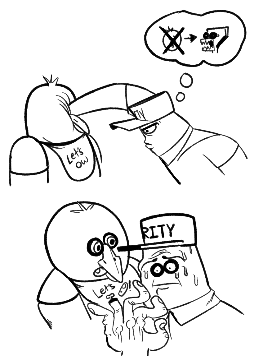 image 821820 five nights at freddy s know your meme F Five Tornado ets ity face white line art black black and white facial expression person mammal cartoon nose