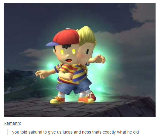 Should have worded it more carefully | Super Smash Brothers