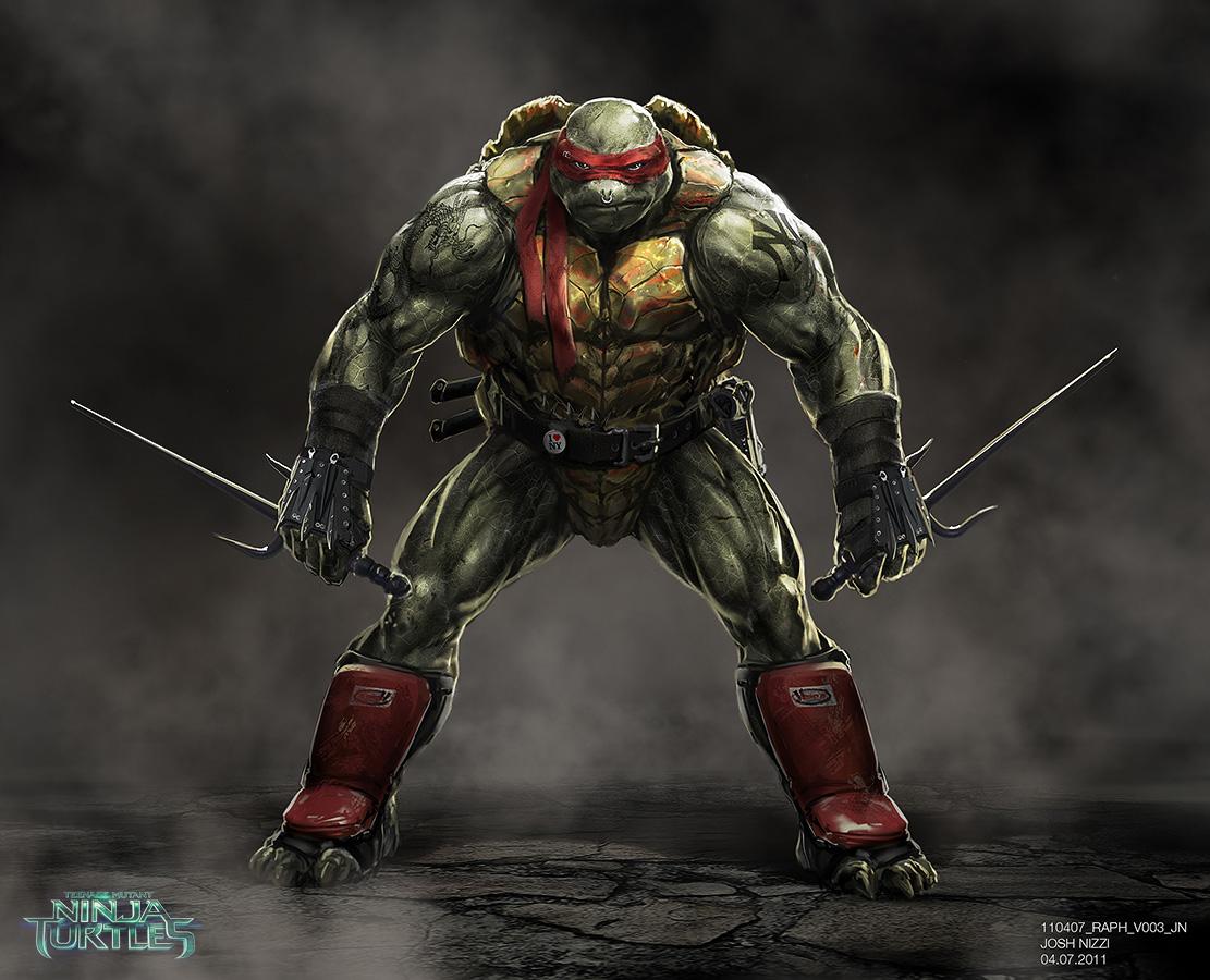 Original Concept Art For Tmnt Raph Teenage Mutant Ninja Turtles