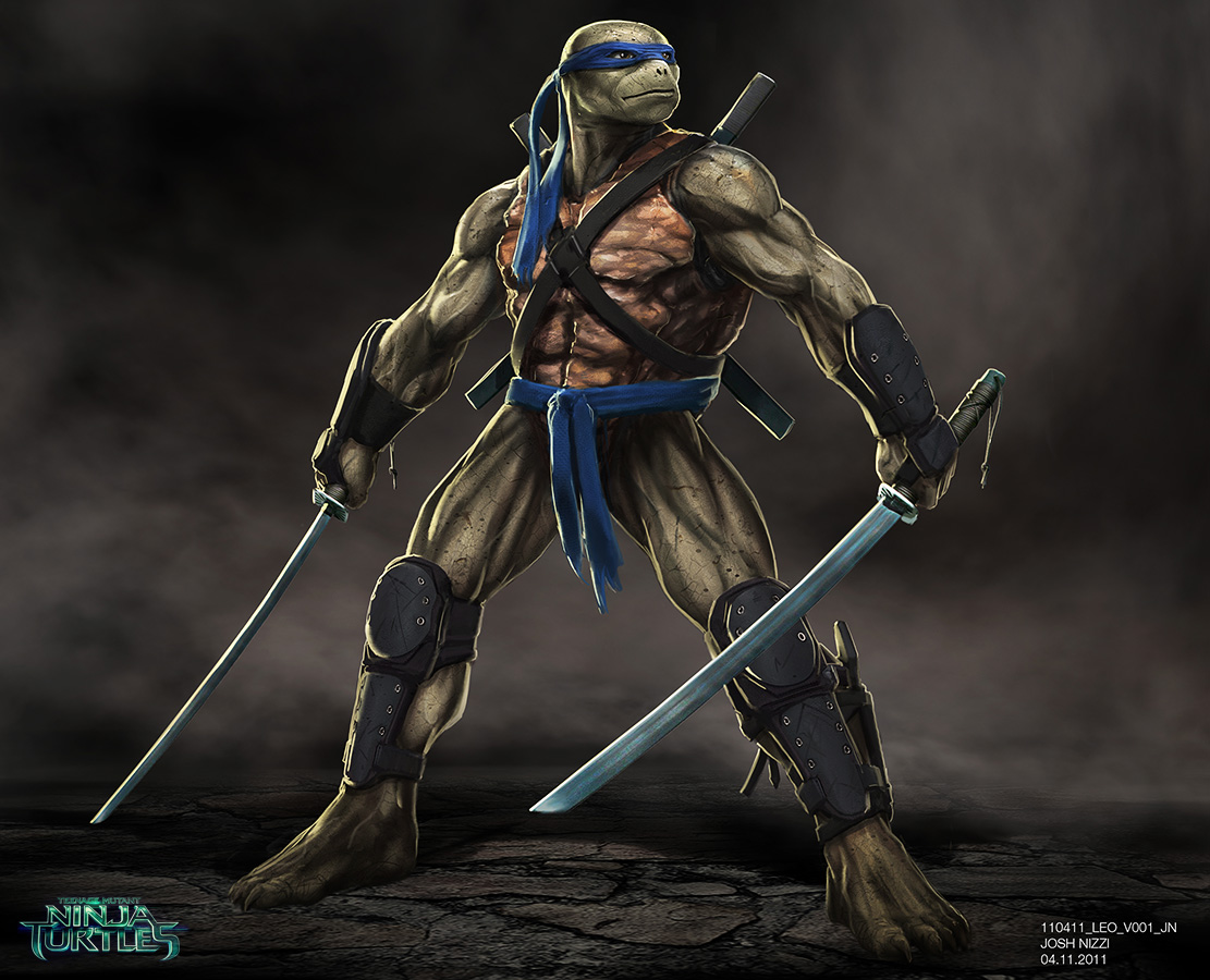 Original Concept Art For Tmnt Leo Teenage Mutant Ninja Turtles Know Your Meme