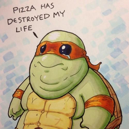 Pizza Has Destroyed My Life Teenage Mutant Ninja Turtles Know