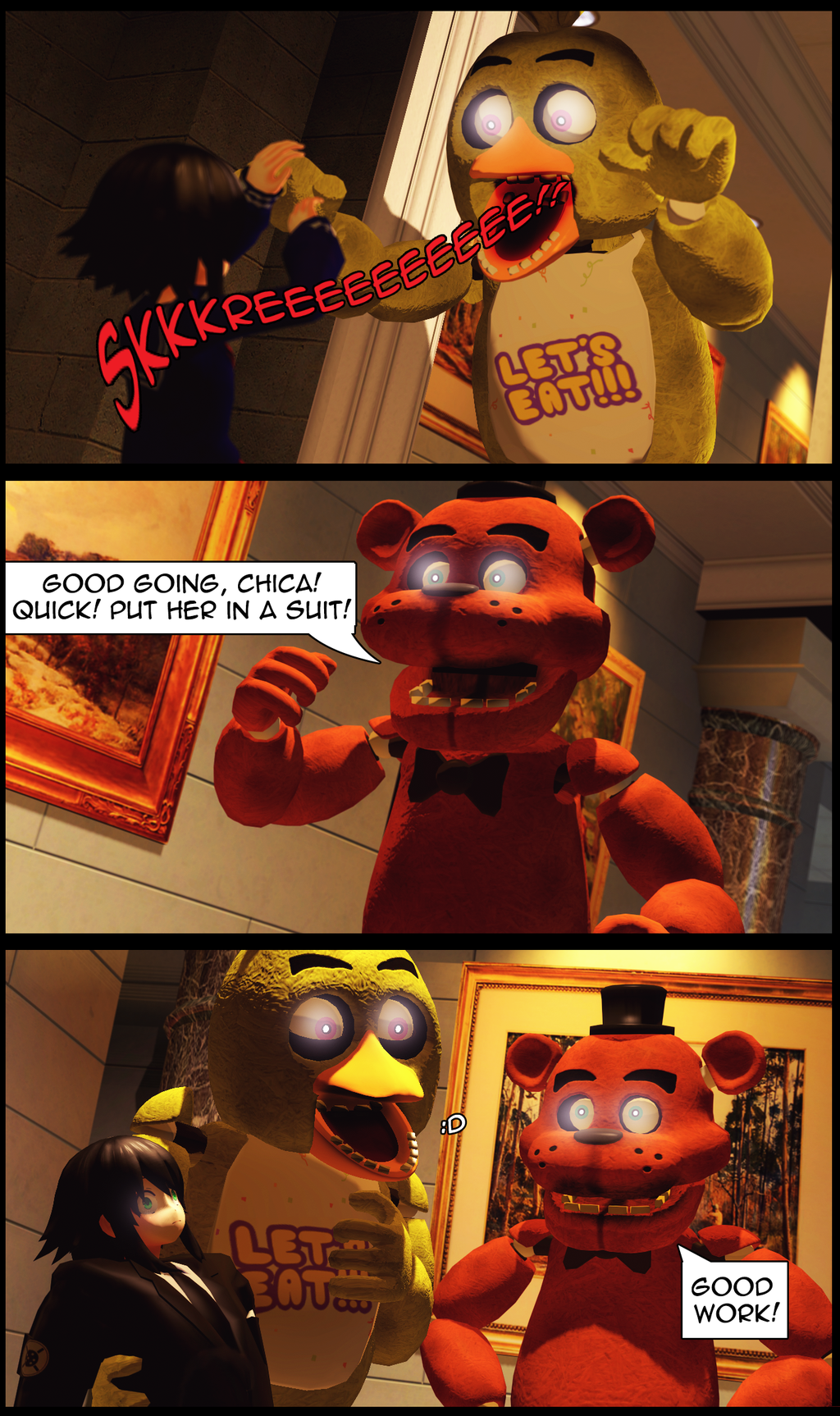 Scare Tactics | Five Nights at Freddy's | Know Your Meme
