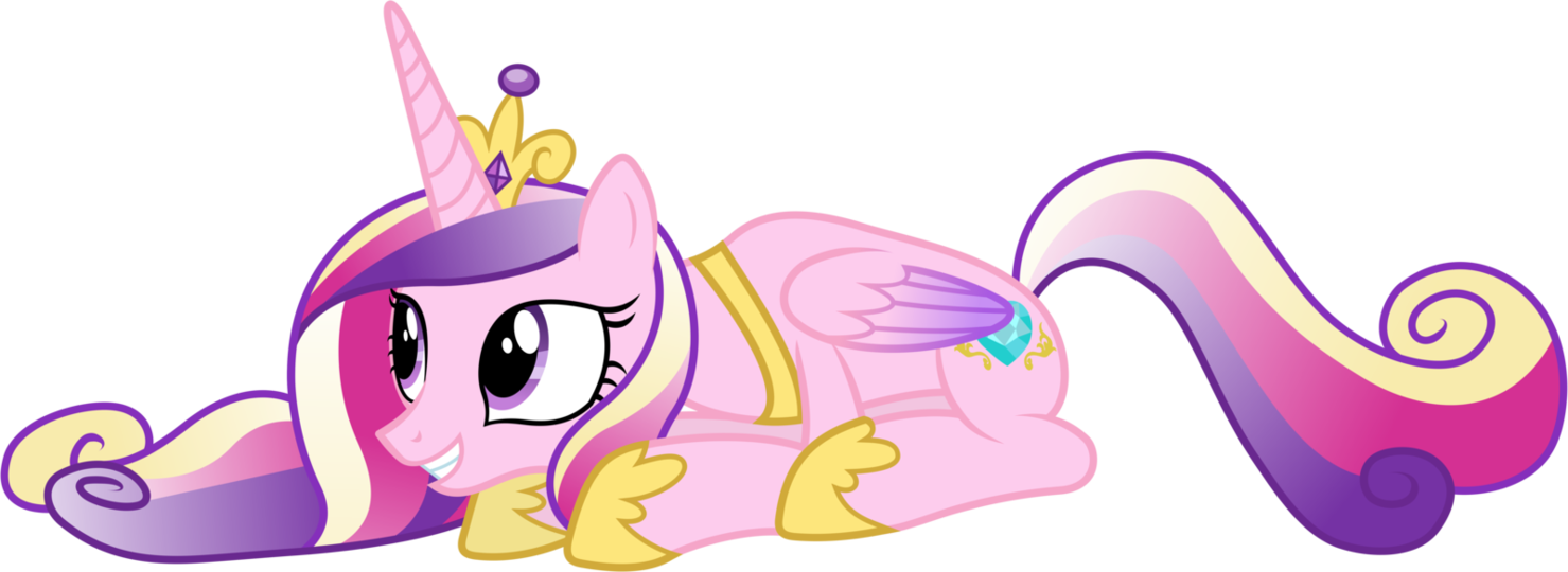 Prone Princess Cadance My Little Pony Friendship Is Magic Know