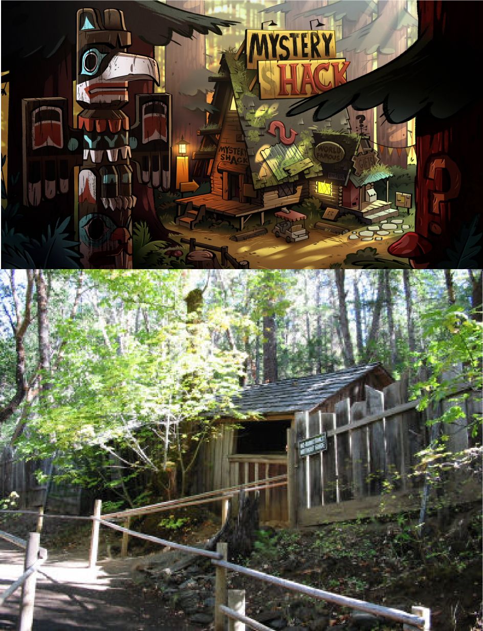 Real Life Mystery Shack The House Of Mystery Gravity Falls Know